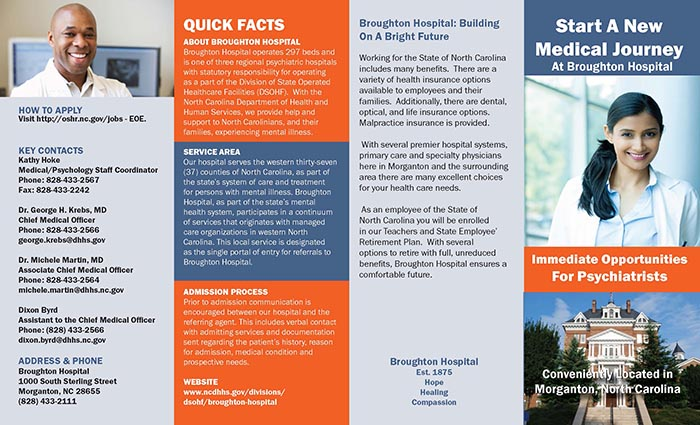 broughton hospital recruitment brochure rocket sled design and
